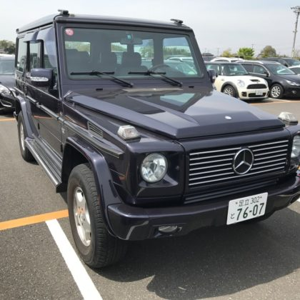 1993 Mercedes Benz 500GE, only one of 500 produced!