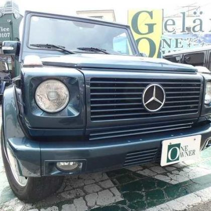 1999 Mercedes Benz G500 short