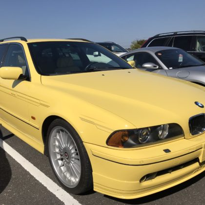 Alpina B10 V8S Touring, 1 of 1 in Dakar Yellow!