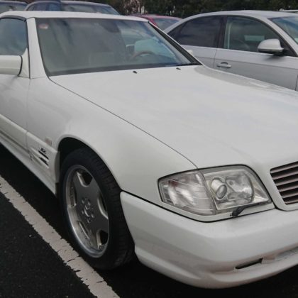 Now in stock: 1997 Mercedes SL70 AMG