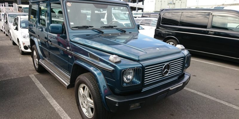2000 Mercedes Benz G500 in rare green!