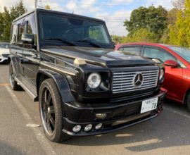 2007 Mercedes Benz G55 AMG, supercharged!