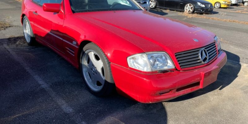 1998 Mercedes Benz SL60 AMG, rare red!